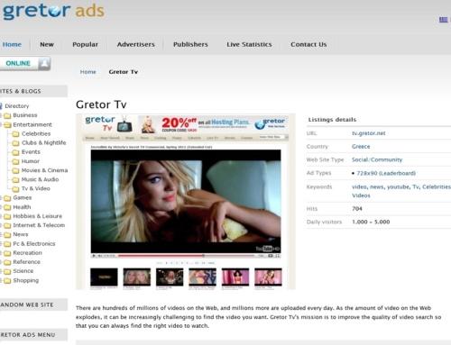 Gretor Ads